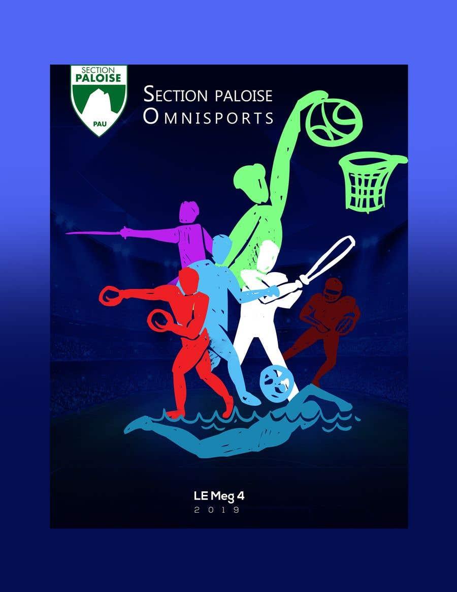 Proposition n°29 du concours Couverture magazine Section Paloise Omnisports