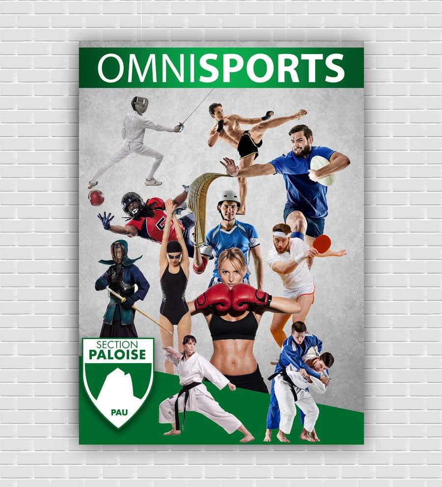 Proposition n°8 du concours Couverture magazine Section Paloise Omnisports