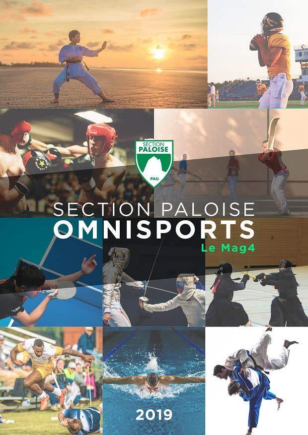 Proposition n°44 du concours Couverture magazine Section Paloise Omnisports