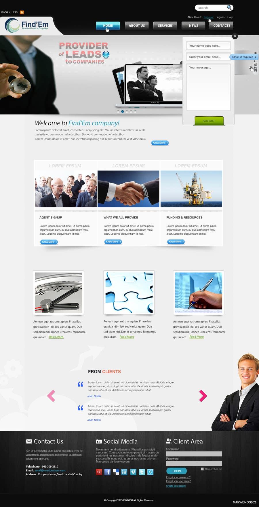 Bài tham dự cuộc thi #                                        6                                      cho                                         Website Design for Find´Em