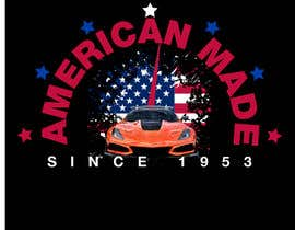 #47 for Corvette American Made Tee Shirt by Shtofff