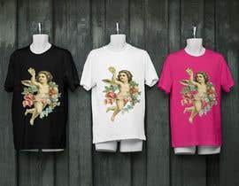 #18 cho Tshirt with Logo of Angel eating Avocado Toast bởi SA2ID