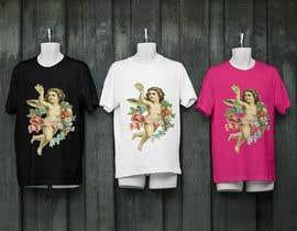 #18 for Tshirt with Logo of Angel eating Avocado Toast af SA2ID