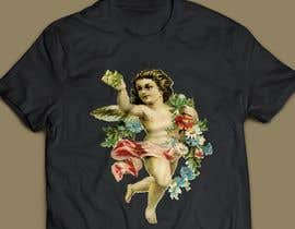#22 cho Tshirt with Logo of Angel eating Avocado Toast bởi SA2ID