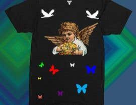 #10 cho Tshirt with Logo of Angel eating Avocado Toast bởi mdriponislam0000