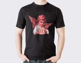 #26 for Tshirt with Logo of Angel eating Avocado Toast af gtahirfarooq