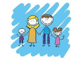 Add7Advertise tarafından NEED A VECTOR 'HAPPY FAMILY' DRAWING. no bids from indiapak için no 9