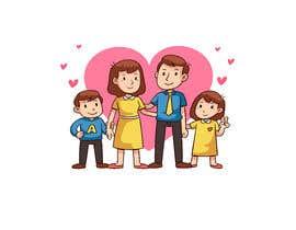 Mourikhan1 tarafından NEED A VECTOR 'HAPPY FAMILY' DRAWING. no bids from indiapak için no 6