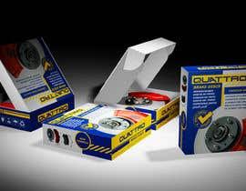 Nro 12 kilpailuun Prepare packaging for Brake Pads and Brake Discs käyttäjältä Watfa3D