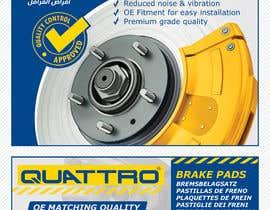 Nro 16 kilpailuun Prepare packaging for Brake Pads and Brake Discs käyttäjältä Watfa3D