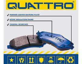 #17 pentru Prepare packaging for Brake Pads and Brake Discs de către Watfa3D