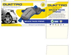 #14 pentru Prepare packaging for Brake Pads and Brake Discs de către MaxoGraphics
