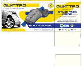 Nro 14 kilpailuun Prepare packaging for Brake Pads and Brake Discs käyttäjältä MaxoGraphics