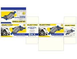 Nro 18 kilpailuun Prepare packaging for Brake Pads and Brake Discs käyttäjältä MaxoGraphics