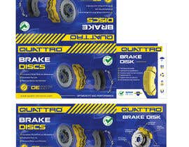 #20 pentru Prepare packaging for Brake Pads and Brake Discs de către MaxoGraphics