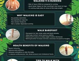 #14 для Poster design for wellcure - Put down the remote and go for a walk. от jaiminkataria