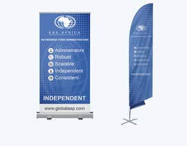 """#34 for Design a """"Banner Flag"""" and """"Pull up Banner"""" for an outdoor event by nobelrayhan7"""