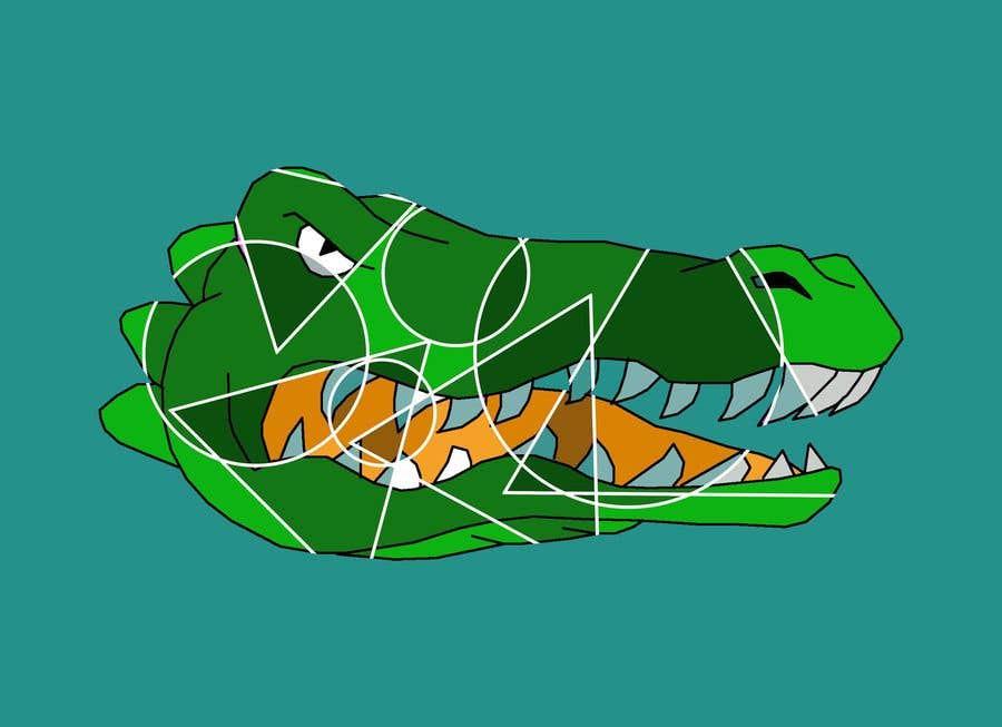 Penyertaan Peraduan #32 untuk Cubist gator