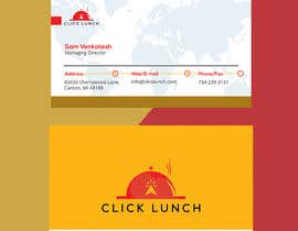 #233 cho Need a trendy visiting card design for the food delivery business bởi trupstech