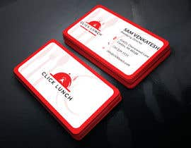 #223 cho Need a trendy visiting card design for the food delivery business bởi thegraphicworld1