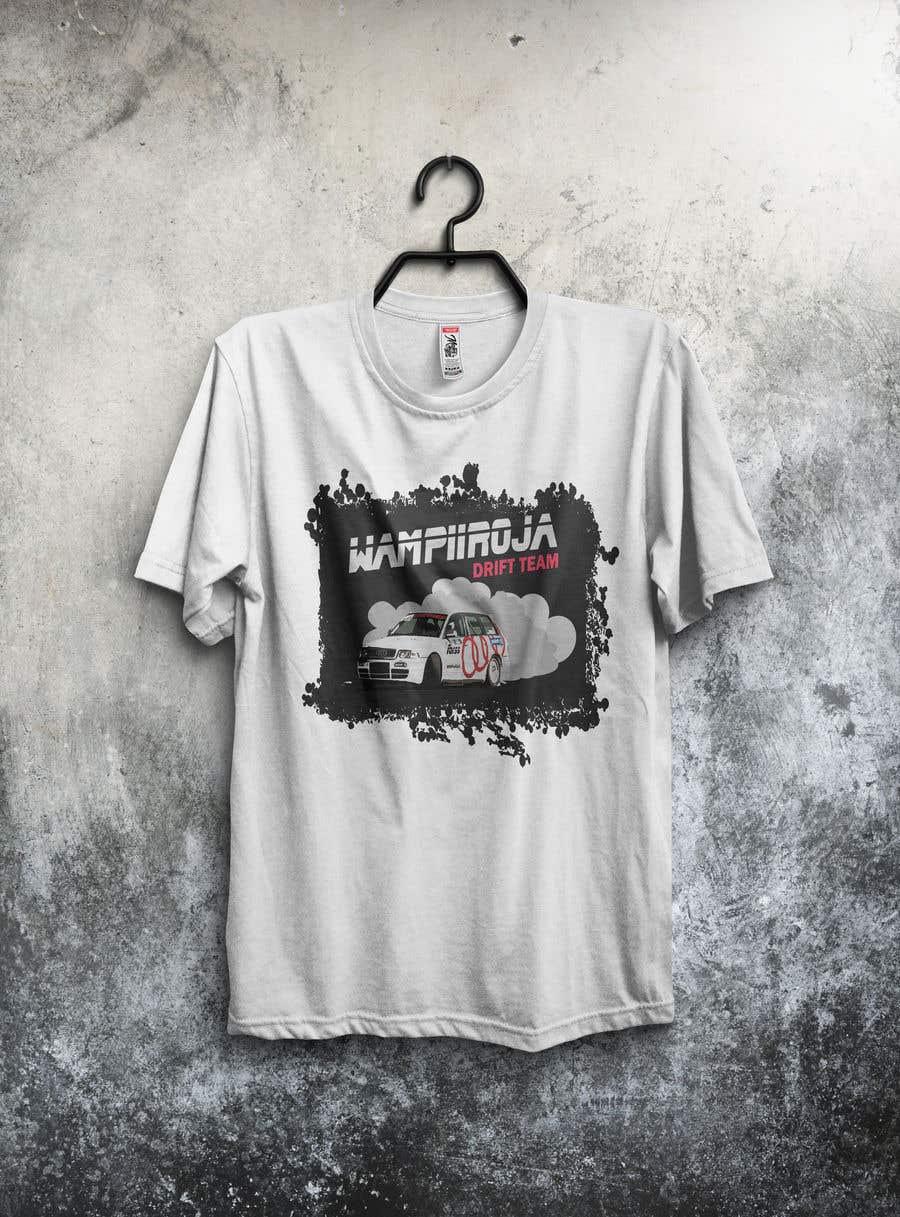 Kilpailutyö #30 kilpailussa Design a Logo/T-shirt/Hoodie for a drift team