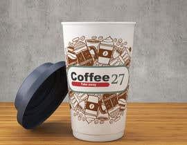 nº 15 pour Paper coffee cup design par Nuuki