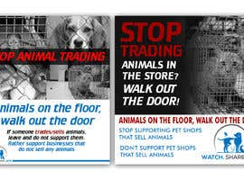 #26 for Stop Animal Trading Leaflet af Hannahyan
