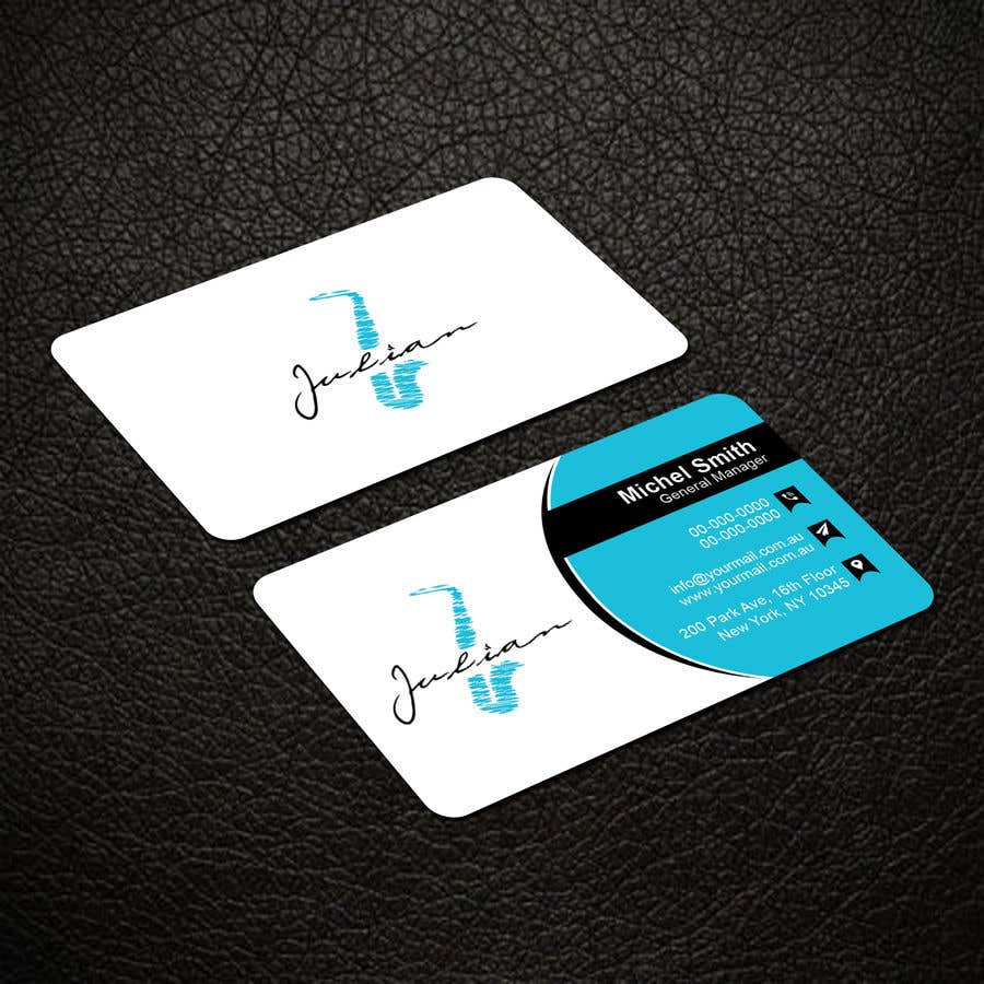 Contest Entry #113 for Design business cards for musician - Saxophone - Logo available