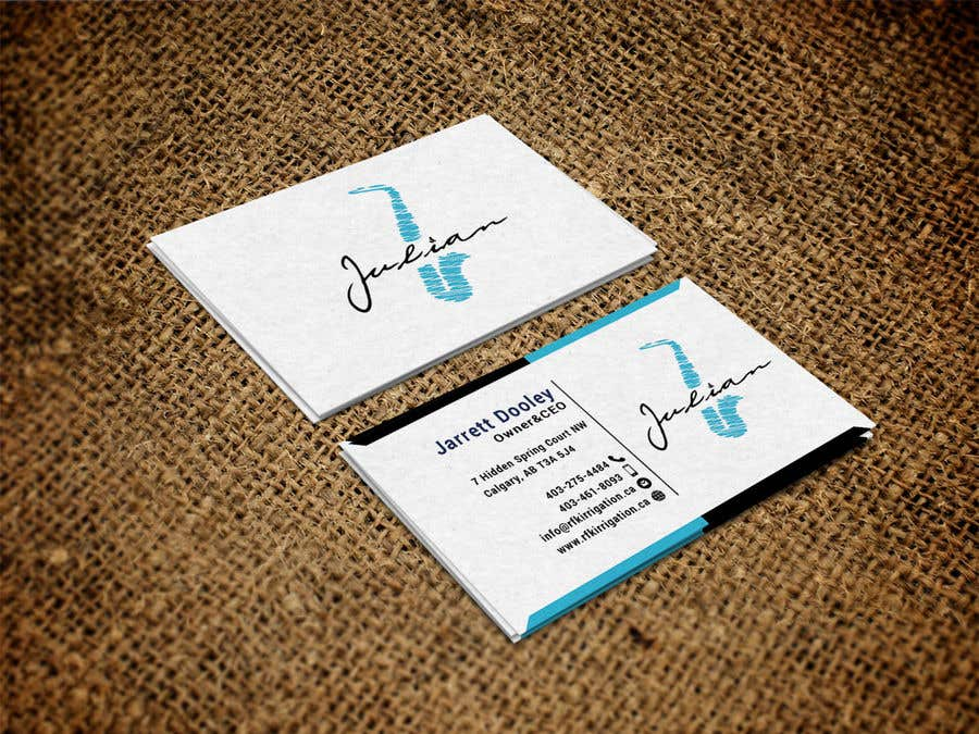 Contest Entry #158 for Design business cards for musician - Saxophone - Logo available