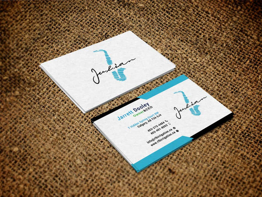 Contest Entry #160 for Design business cards for musician - Saxophone - Logo available
