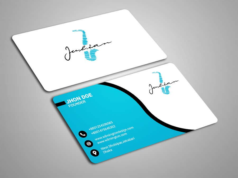 Contest Entry #59 for Design business cards for musician - Saxophone - Logo available