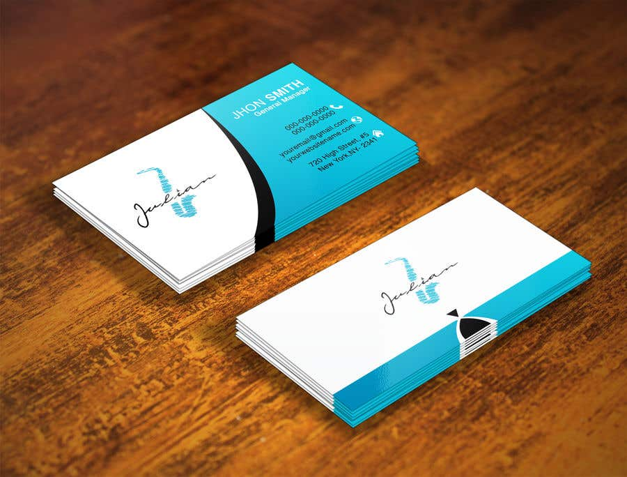 Contest Entry #304 for Design business cards for musician - Saxophone - Logo available