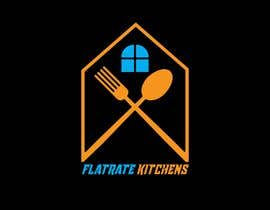 #75 for LOGO - Flatrate Kitchens of Broward by raselhm219