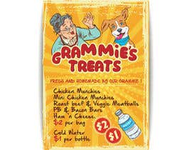 #2 for Popcorn Sign and Grammie's Treats Sign (dog treats) by sudhalottos