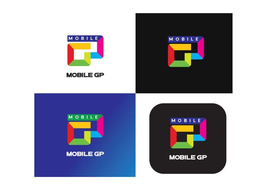 Penyertaan Peraduan #1182 untuk Design a logo for MOBILE GP