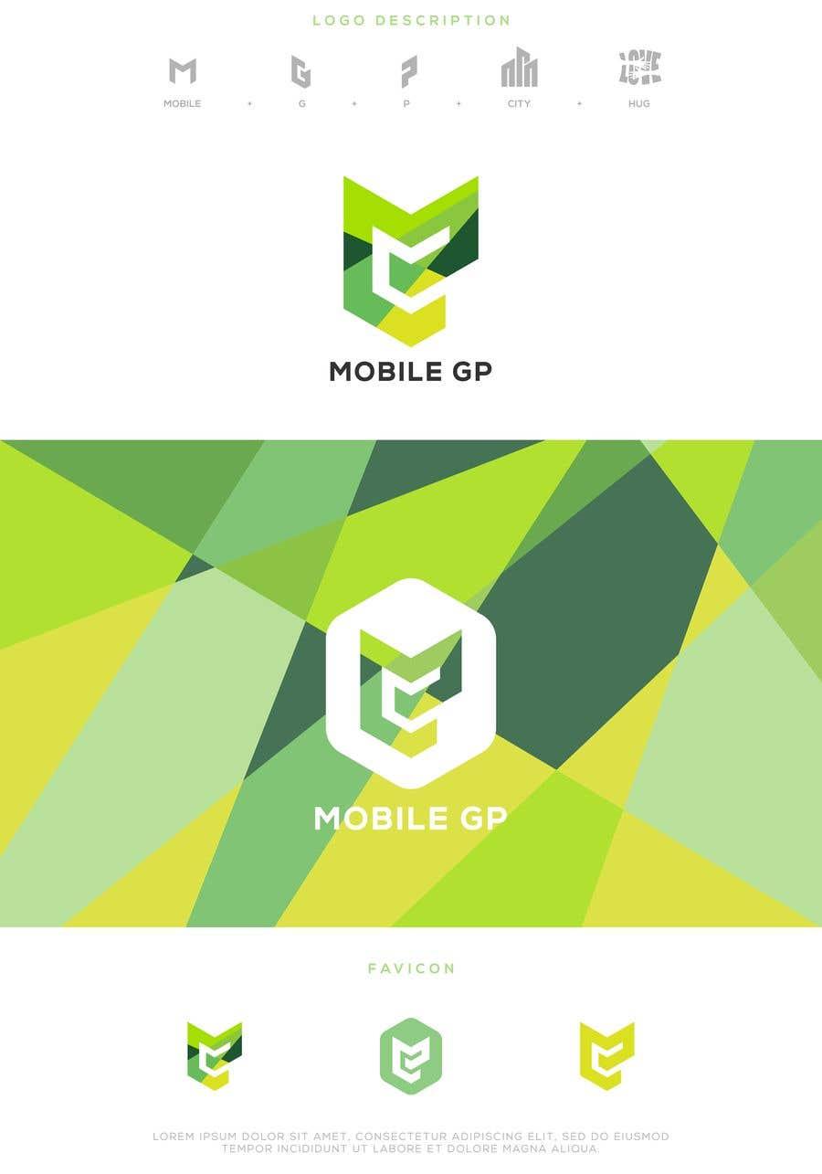 Penyertaan Peraduan #158 untuk Design a logo for MOBILE GP