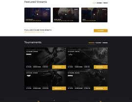 #13 untuk E-sports org website build oleh Nibraz098