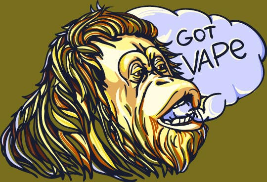 Contest entry 15 for design us a vape sticker to include with our