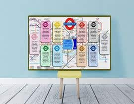 #13 untuk Design a vintage style London underground wedding seating plan poster oleh Rawnaksabrina