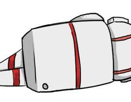 #18 for I need a cartoon drawing of a dead astronaut af kvinay84