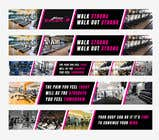 Graphic Design Entri Peraduan #85 for ladies fitness sports gym wall poster designs  - 15/04/2019 04:04 EDT