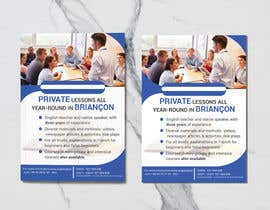 #23 for Flyers to promote private English classes in France af rakib2375