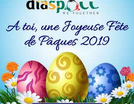 #57 for Happy Easter design - 2019 by savitamane212