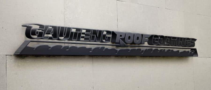 Konkurrenceindlæg #6 for Gauteng Roof Coatings Logo Design