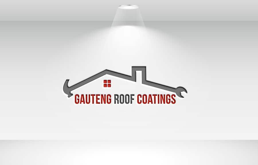 Konkurrenceindlæg #41 for Gauteng Roof Coatings Logo Design
