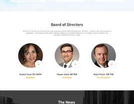 Nro 10 kilpailuun UI designer for creating the design theme and templates for a Website käyttäjältä saidesigner87