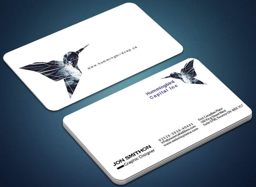Kilpailutyö #389 kilpailussa Business card