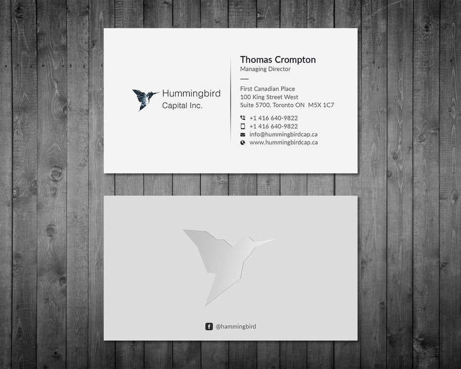 Kilpailutyö #209 kilpailussa Business card