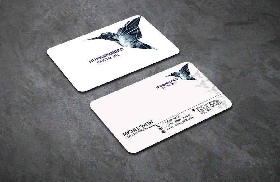 Kilpailutyö #531 kilpailussa Business card