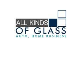 #15 for All Kinds of Glass, Logo Design by kenko99